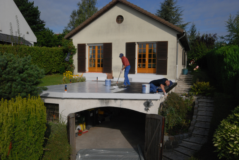 Technitoit isolation isolation et r novation de toiture for Goudron pour terrasse